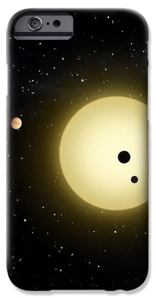 Space Kepler 11 Introduction iPhone Case by Movie Poster Prints