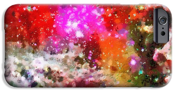 Outer Space Paintings iPhone Cases - Space travel iPhone Case by Magomed Magomedagaev