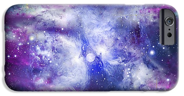 Solar Eclipse iPhone Cases - Space009 iPhone Case by Svetlana Sewell