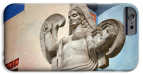 Figures iPhone Cases - Spain over Texas iPhone Case by Joan Carroll