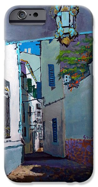 Buildings iPhone Cases - Spain Series 09 Cadaques iPhone Case by Yuriy Shevchuk