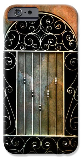 Spanish Influence iPhone Case by Barbara Chichester