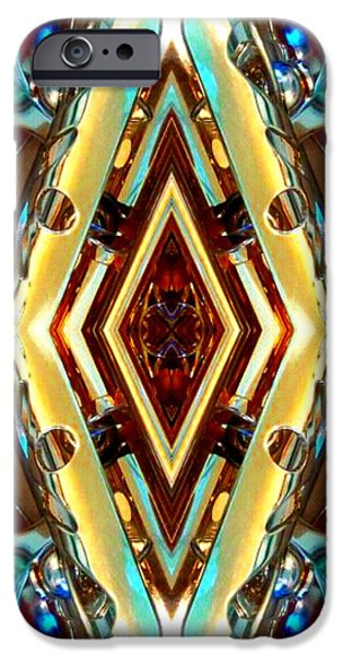 Socal Mixed Media iPhone Cases - Spare Part iPhone Case by Romy Galicia