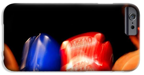 Boxer iPhone Cases - Sparring iPhone Case by Justin Woodhouse