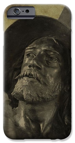 Best Sellers -  - Statue Portrait iPhone Cases - Spartacus iPhone Case by Dan Sproul
