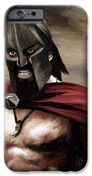 Spartan iPhone Case by James Shepherd