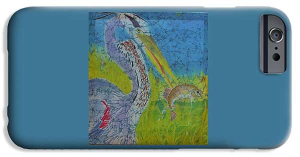 Great Tapestries - Textiles iPhone Cases - Spearfishin iPhone Case by Kate Ford