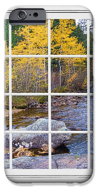 Special Place in the Woods Large White Picture Window View iPhone Case by James BO  Insogna