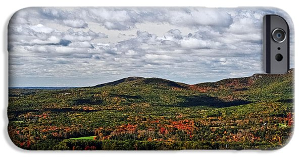 Plant iPhone Cases - Spectacular Maine Fall iPhone Case by Elvis Vaughn