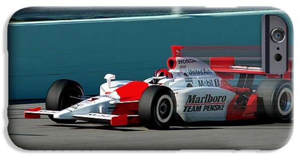 Indy Car iPhone Cases - Speed Indy iPhone Case by Kevin Cable
