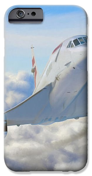 Speeding Above the Clouds iPhone Case by Dale Jackson