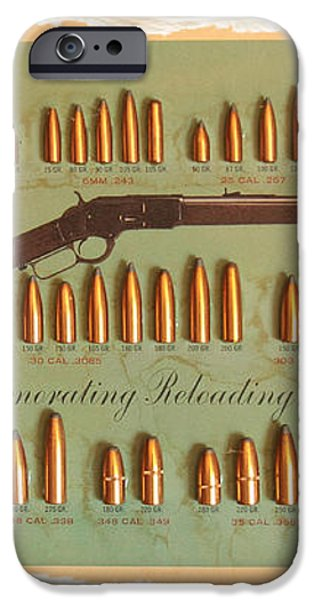 Speer Bullets iPhone Case by Cheryl Young