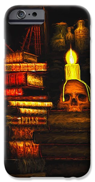 Spell iPhone Cases - Spells iPhone Case by Bob Orsillo