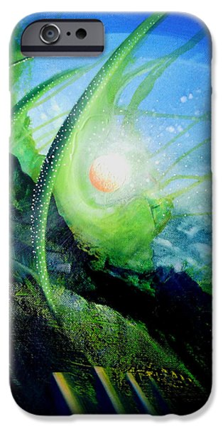Virtual iPhone Cases - Sphere Ds  iPhone Case by Drazen Pavlovic