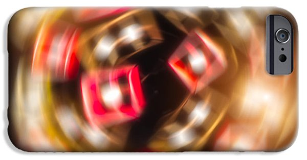 Spheres iPhone Cases - Sphere of Light iPhone Case by Wim Lanclus