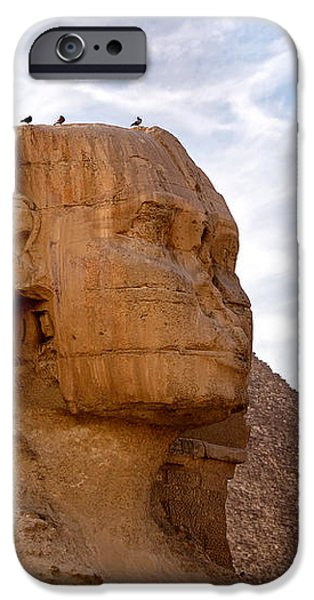 Sphinx Egypt iPhone Case by Jane Rix