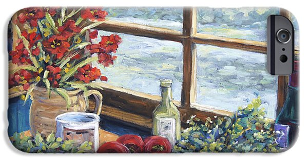 Interior Scene iPhone Cases - Spice Table by Prankearts iPhone Case by Richard T Pranke