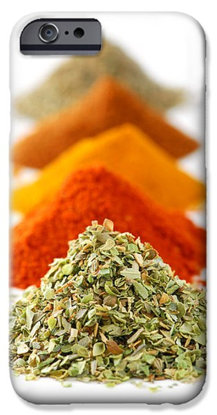 Spices iPhone Case by Elena Elisseeva