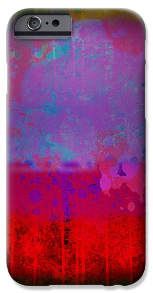 Spills and Drips iPhone Case by Gary Grayson