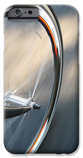Cycling iPhone Cases - Spin iPhone Case by Jeff Klingler