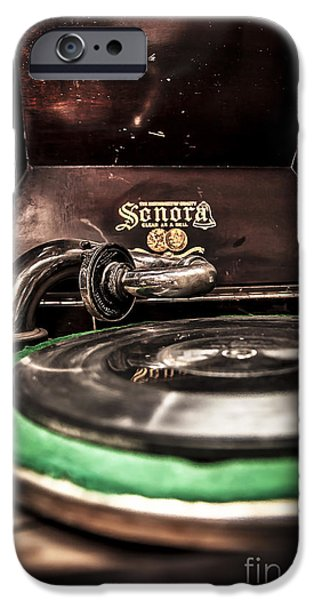 Analog iPhone Cases - Spin that Record iPhone Case by Darcy Michaelchuk