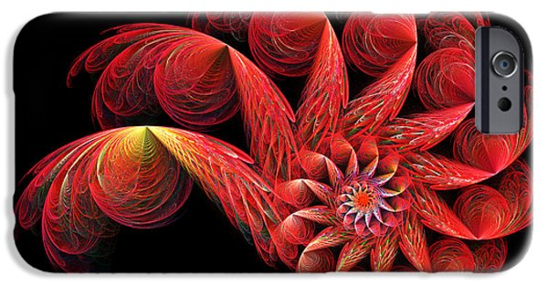 Fractal iPhone Cases - Spinning iPhone Case by Sandy Keeton