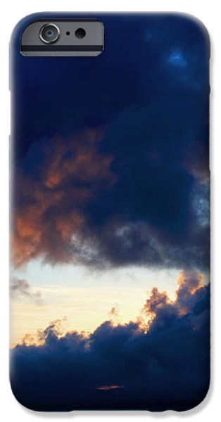 Spiral Clouds iPhone Case by Aidan Moran