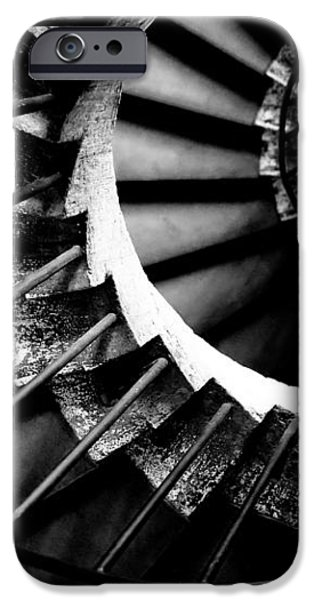 Spiral staircase iPhone Case by Fabrizio Troiani