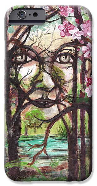 Faries iPhone Cases - Spirit  iPhone Case by Gretchen  Smith