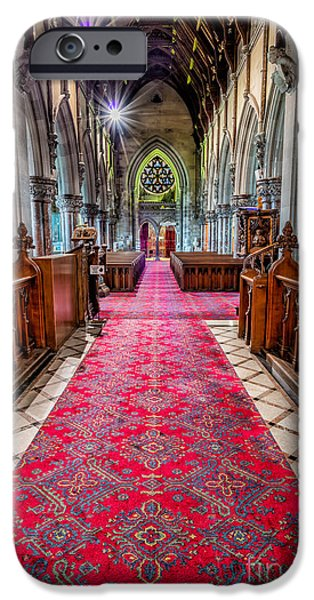 Chapels iPhone Cases - Spirit Of Light iPhone Case by Adrian Evans