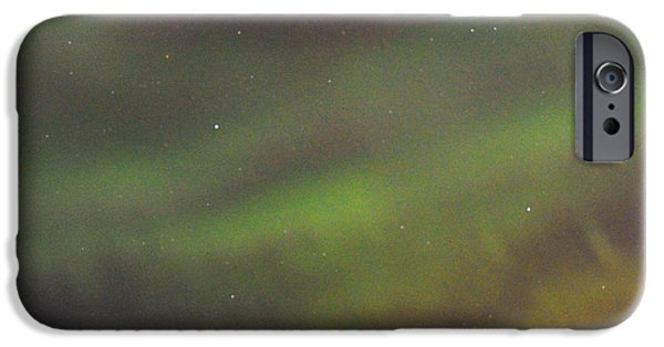 Cemetary iPhone Cases - Spirit of the Auroras iPhone Case by Gerry Buckel