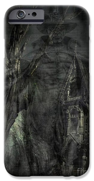 Spirit of the Inquisitor iPhone Case by Dan Stone