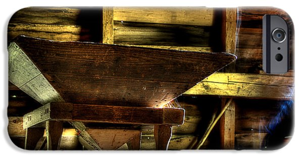 Grist Mill iPhone Cases - Spirit Of The Mill iPhone Case by Michael Eingle