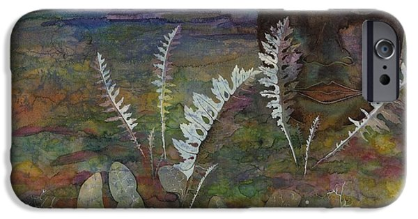 Plant Tapestries - Textiles iPhone Cases - Spirit on the Tundra iPhone Case by Carolyn Doe