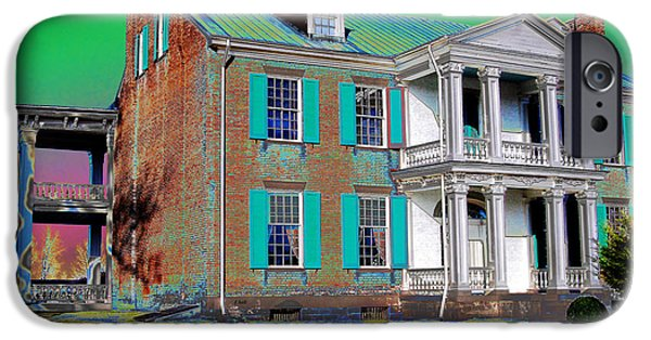 Confederate Hospital iPhone Cases - Spirits Of The Civil War iPhone Case by Francine Hall