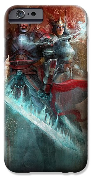 Armor iPhone Cases - Spiritual Armor iPhone Case by Steve Goad