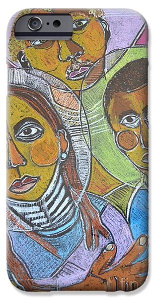 Robert Daniels iPhone Cases - Spiritual Bonding iPhone Case by Robert Daniels