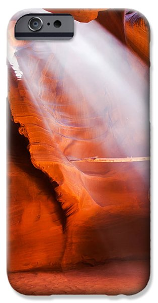 Antelope Canyon iPhone Cases - Spiritual Canyon - Upper Antelope Canyon iPhone Case by Gregory Ballos