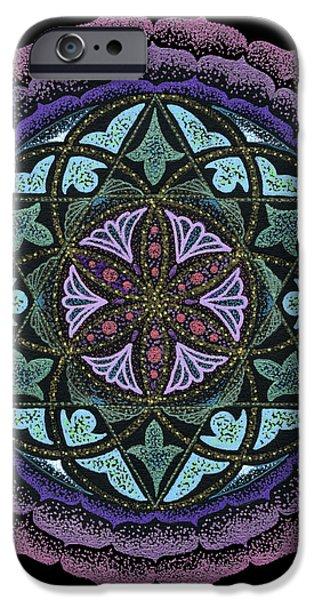 Spiritual Heart iPhone Case by Keiko Katsuta