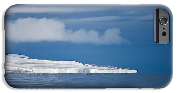 Norway iPhone Cases - Spitsbergen Island, Svalbard, Norway iPhone Case by Panoramic Images