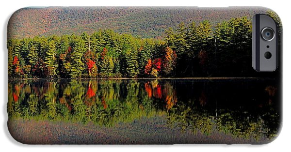 Mt Chocorua iPhone Cases - Spitting Image iPhone Case by Mim White