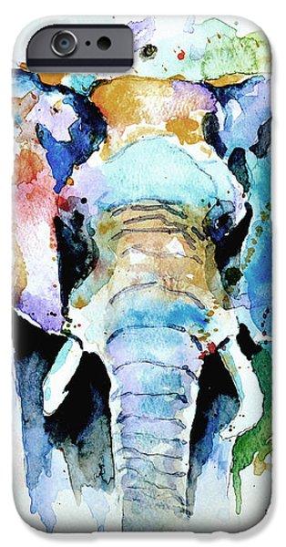 Splash of colour iPhone Case by Steven Ponsford