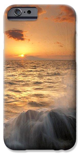 Splash of Paradise iPhone Case by Mike  Dawson