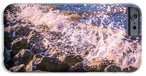Chatham iPhone Cases - Splashes iPhone Case by Dawn OConnor