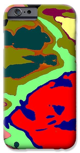 Splatter  iPhone Case by Joseph Baril