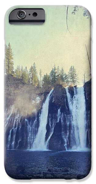 Sun Rays Digital iPhone Cases - Splendor iPhone Case by Laurie Search