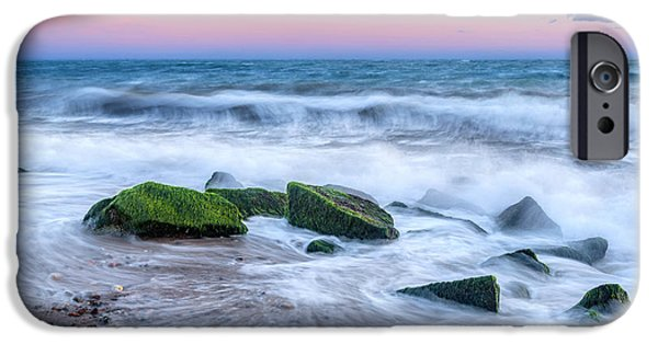 Cape Cod National Seashore iPhone Cases - Splish Splash iPhone Case by Bill  Wakeley