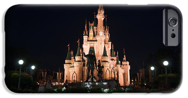 Magic Kingdom iPhone Cases - Split Personality iPhone Case by Ryan Crane
