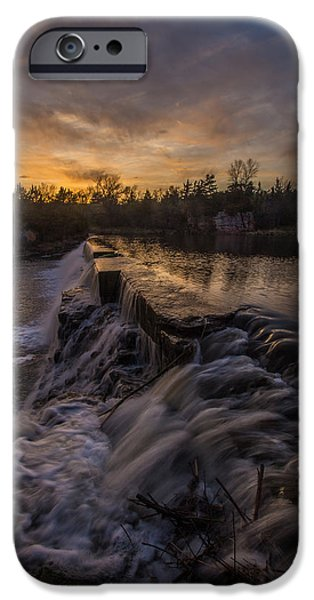 Epic iPhone Cases - Split Rock sunset 2 iPhone Case by Aaron J Groen