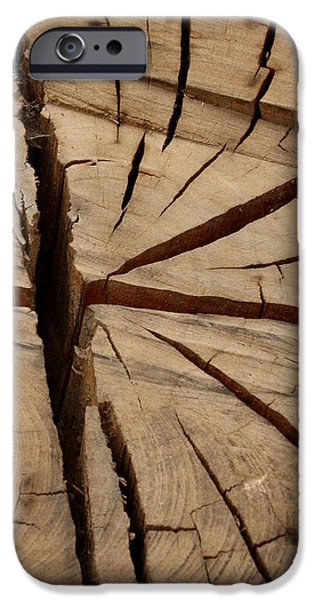 Split Wood iPhone Case by Art Block Collections